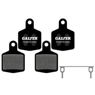 Plaquettes de frein Galfer - Hope DH4 4 Pistons - Noir Standard Galfer FD241G1053 Hope