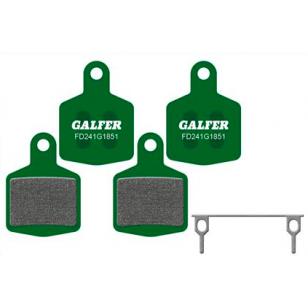 Plaquettes de frein Galfer - Hope DH4 4 Pistons - Vert Pro Galfer FD241G1554T Hope