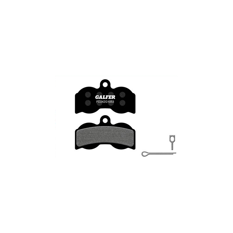 Plaquettes de frein Galfer - Hope XC4 4 Pistons - Noir Standard Galfer FD242G1053 Hope