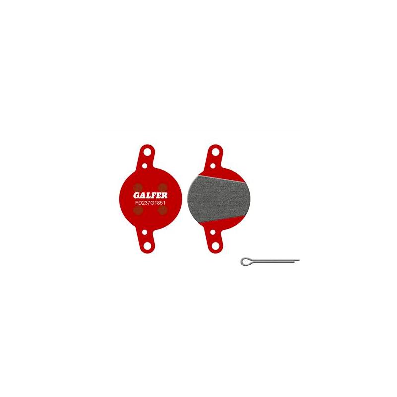 Plaquettes de frein Galfer - Magura Clara (01-02)/Louise (02-06) - Rouge Advanced Galfer FD237G1851 Magura