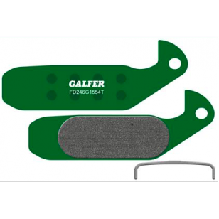 Plaquettes de frein Galfer - Magura GUSTAV M (-2006) - Vert Pro Galfer FD246G1554T Magura