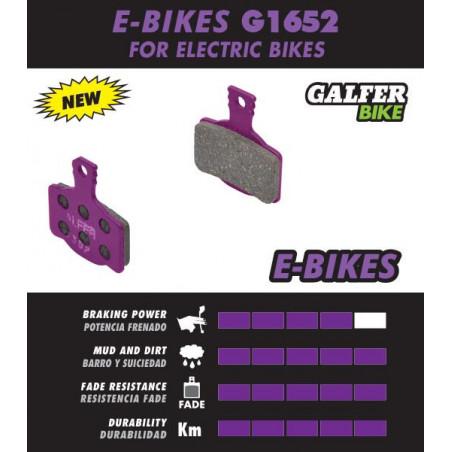 Plaquettes de frein Galfer - Magura MT2/MT4/MT6/MT8/MTS - E-Bike Galfer FD436G1652 Magura