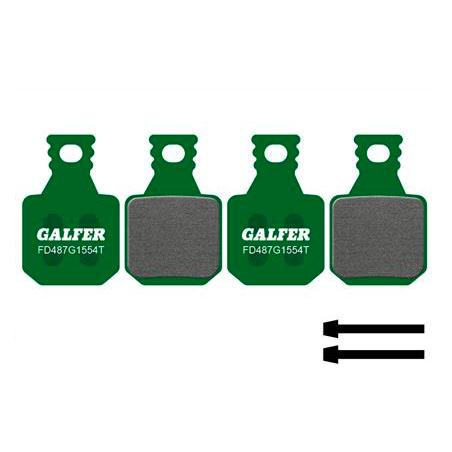 Plaquettes de frein Galfer - Magura MT5 MT7 - Vert Pro Galfer FD487G1554T Magura