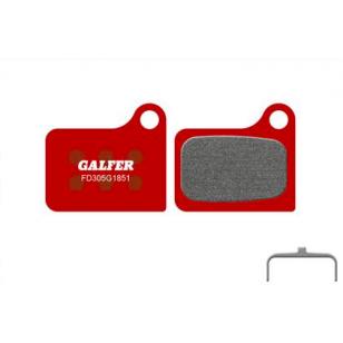 Plaquettes de frein Galfer - Shimano Nexave/Deore M555 - Rouge Advanced Galfer FD305G1851 Shimano