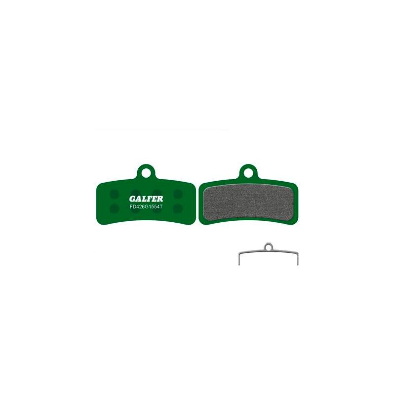 Plaquettes de frein Galfer - Shimano Saint 810/ZEE - Vert Pro Galfer FD426G1554T Shimano