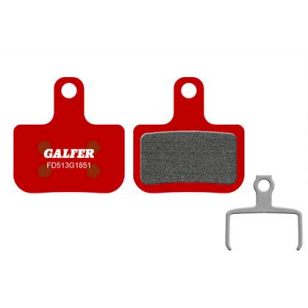 Plaquettes de frein Galfer - Sram Level/T/TL - Rouge Advanced Galfer FD513G1851 SRAM