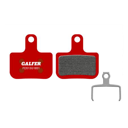 Plaquettes de frein Galfer - Sram Level/T/TL - Rouge Advanced Galfer FD513G1851 SRAM