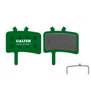Plaquettes de frein Galfer - Avid BB7/Juicy 3/5/7/Ultimate/Carbon - Promax 950 - Vert Pro Galfer FD281G1554T Avid