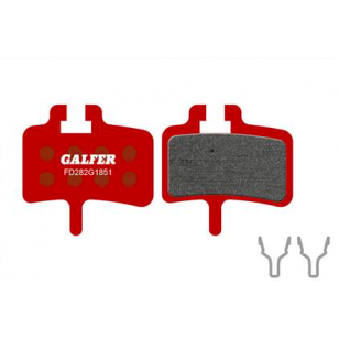Plaquettes de frein Galfer - Hayes HFX-9/MAG/MX-1/Promax Meca - Rouge Advanced Galfer FD282G1851 Promax