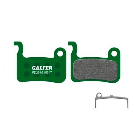 Plaquettes de frein Galfer - Shimano XT/LX/Saint/XTR/Giant - Vert Pro Galfer FD294G1554T Shimano