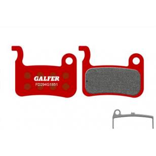 Plaquettes de frein Galfer - Shimano XT/LX/Saint/XTR/Giant- Rouge Advanced Galfer FD294G1851 Shimano