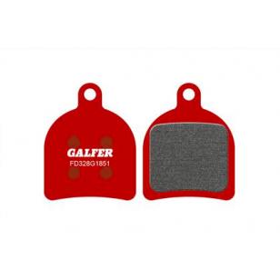 Plaquettes de frein Galfer - Hope Mono Trial/DB110 - Rouge Advanced Galfer FD328G1851 Hope