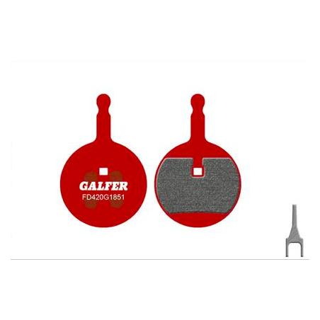 Plaquettes de frein Galfer - Avid BB5 - Rouge Advanced Galfer FD420G1851 Avid