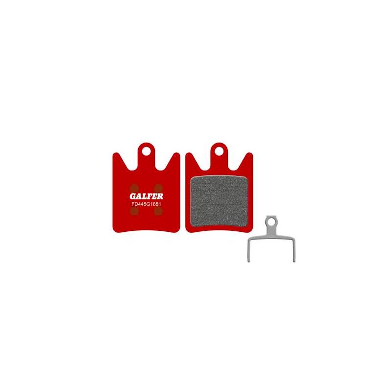 Plaquettes de frein Galfer - Hope Mono V2, TECH V2 - Rouge Advanced Galfer FD445G1851 Hope