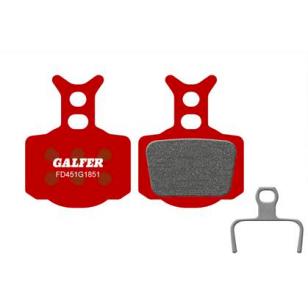 Plaquettes de frein Galfer - Formula Mega/The One/R0/R1/RX/RR1/T1/C1- Rouge Advanced Galfer FD451G1851 Formula