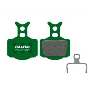 Plaquettes de frein Galfer - Formula Mega/The One/R0/R1/RX/RR1/T1/C1- Vert Pro Galfer FD451G1554T Formula