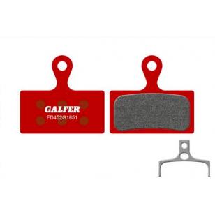 Plaquettes de frein Galfer - Shimano XTR 985/XT 785/SLX 666 - Rouge Advanced Galfer FD452G1851 Shimano