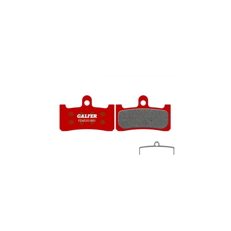 Plaquettes de frein Galfer - Hope M4 - Rouge Advanced Galfer FD453G1851 Shimano
