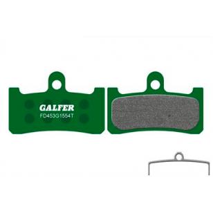 Plaquettes de frein Galfer - Hope M4 - Vert Pro Galfer FD453G1554T Shimano