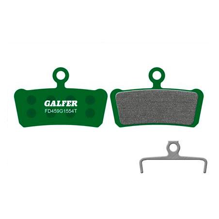 Plaquettes de frein Galfer - Avid X0/Trail/7 Trail/9 Trail - Vert Pro Galfer FD459G1554T Sram