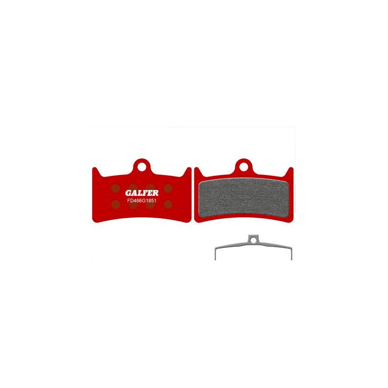 Plaquettes de frein Galfer - Hope V4 - Rouge Advanced Galfer FD466G1851 Hope