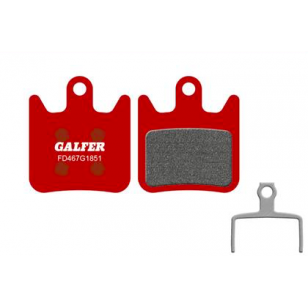 Plaquettes de frein Galfer - Hope X2 - Rouge Advanced Galfer FD467G1851 Hope