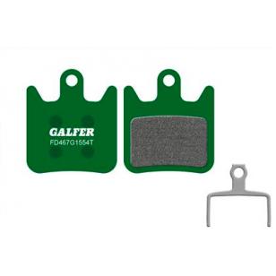 Plaquettes de frein Galfer - Hope X2 - Vert Pro Galfer FD467G1554T Hope