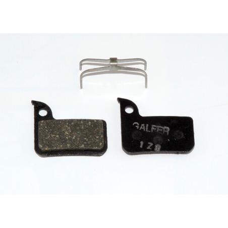Plaquettes de frein Galfer - Level Ultimate / Level TLM / HRD / Red 22 / Force / Rival / S700 - Noir Standard Galfer FD469G10...