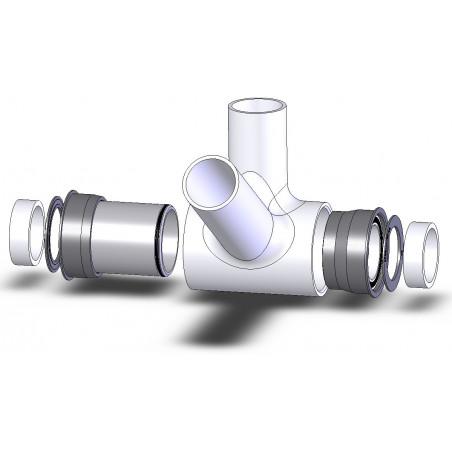 Boîtier de Pédalier Spécialités TA Press Fit 30 Route/VTT Céramique Spécialités TA BOBB008-CERA Standard 30mm