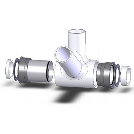 Boîtier de Pédalier Spécialités TA Press Fit 30 A Cannondale Céramique Spécialités TA BOBB009-CERA Standard 30mm