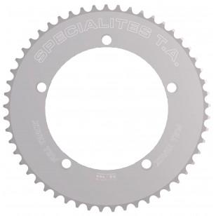 "Plateau Spécialités TA Piste FULL TRACK 144mm - Argent Poli - chaine 3.17mm (1/8"") Spécialités TA PL53144312 Piste 144"
