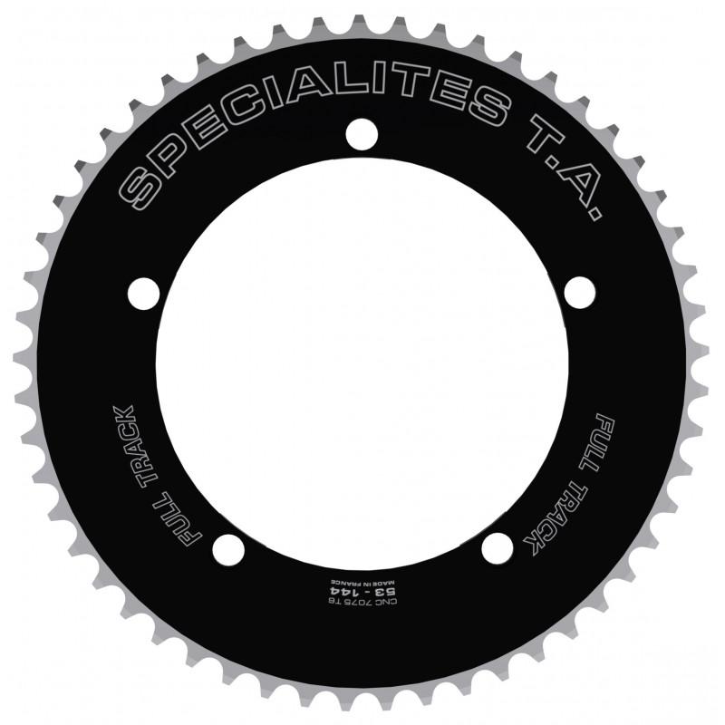 "Plateau Spécialités TA Piste FULL TRACK 144mm - Noir - chaine 3.17mm (1/8"") Spécialités TA PL53144319 Piste 144"
