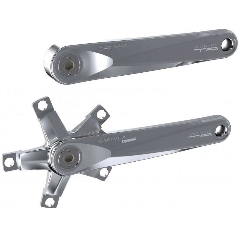 Paire de manivelles Spécialités TA Carmina Compact 110mm (étoile intégrée) Spécialités TA PMCC Paire de Manivelles