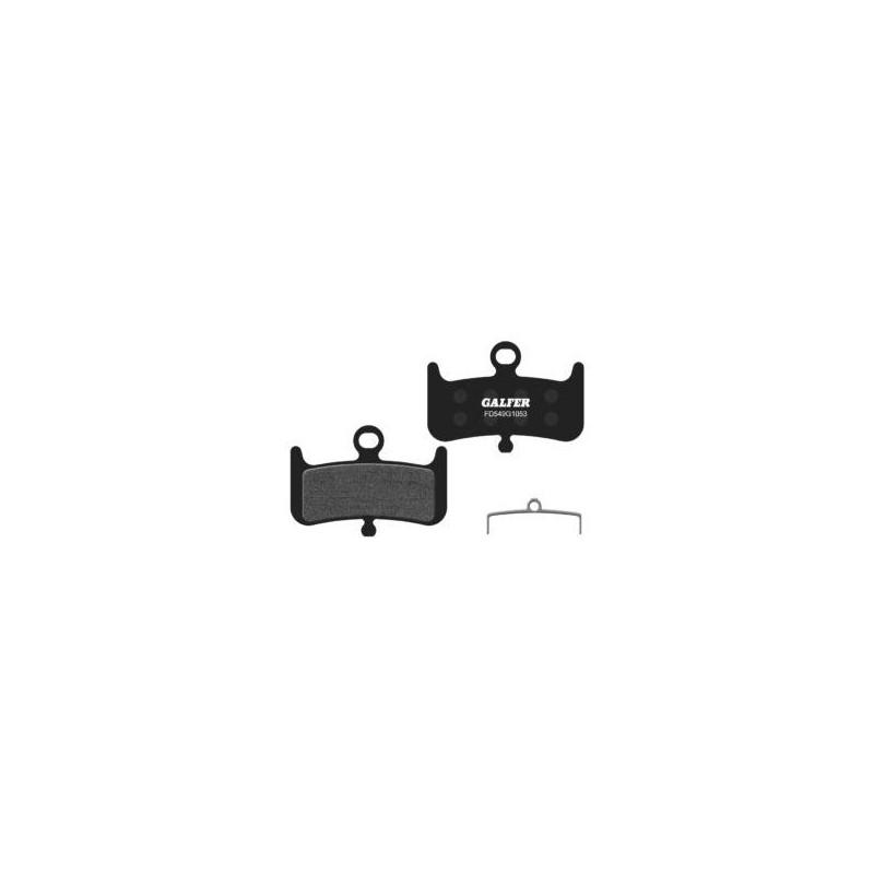 Plaquettes de frein Galfer - HAYES DOMINION A4-Noir Standard Galfer FD549G1053 Hayes