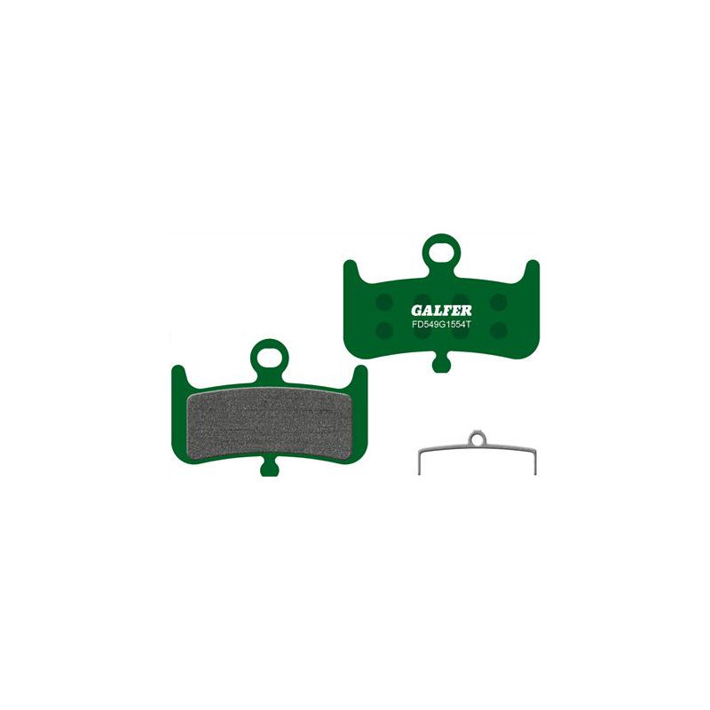 Plaquettes De Frein Galfer - HAYES DOMINION A4 - Vert Pro Galfer FD549G1554T Accueil