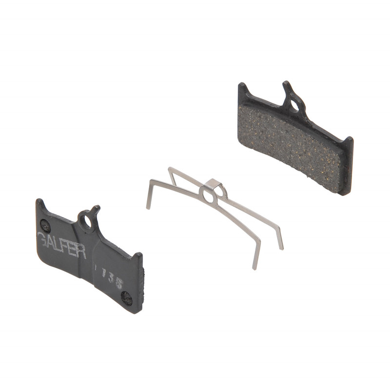 Plaquettes de frein Galfer - Shimano XT 755/Grimeca - Noir Standard