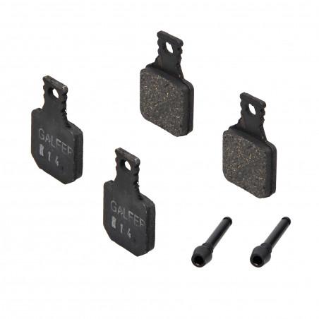 Plaquettes de frein Galfer - Magura MT5/MT7 - Noir Standard