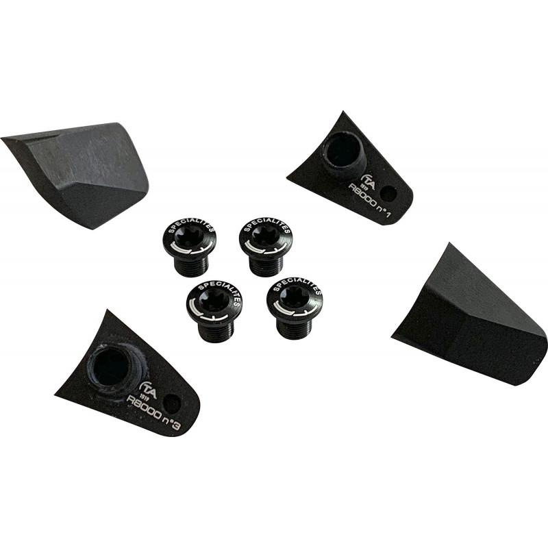 Kit de Caches Spécialités TA pour Pédalier Shimano Ultégra R8000