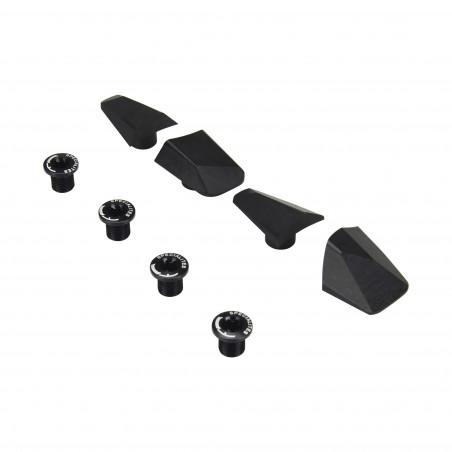 Kit de Caches Spécialités TA pour Pédalier Shimano Dura-Ace R9100