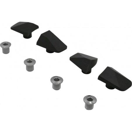 Kit de Caches Spécialités TA pour Pédalier Shimano 105 R7000