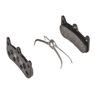 Plaquettes de frein Galfer - Formula Cura 4 - Noir Standard Galfer FD531G1053 Formula